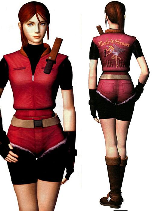 Claire Redfield RE2 – vesta